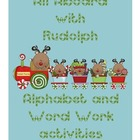All Aboard with Rudolph - Alphabet and Word Work Activities