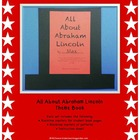 All About Abraham Lincoln Theme Book