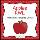 Apples KWL – Two Charts for Apple Themed Units - Graphic O