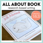 All About Book {A research-based, informative writing project}