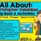 All About: Christopher Columbus Flip Book & Activities