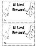 All About Dinosaurs Writing Book