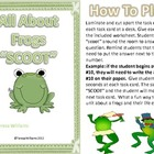 "All About Frogs ""SCOOT"" Game"