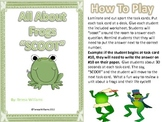 """All About Frogs """"SCOOT"""" Game"""
