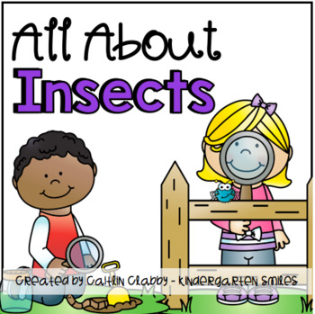 All About Insects: Math, Literacy, and SO Much More! (Aligned to Common Core)