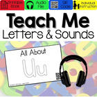 All About Letter Uu [Interactive Listening Center with Aud