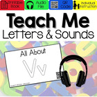 All About Letter Vv [Interactive Listening Center with Aud