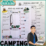Camping All About Me Printable