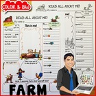 Farm All About Me Printable