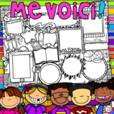 Me Voici ~ Back to School Activity - French