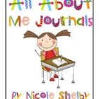 All About Me Journals with Student Reflection