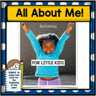 All About Me Lets Make a Book