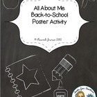 All About Me Poster: Back to School Activity