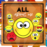 All About Me Theme Lesson Plans (one week)