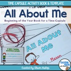 All About Me - Time Capsule Activity