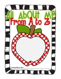 All About Me from A to Z book