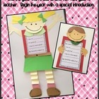 All About Me...an introduction and craft!
