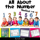 All About Numbers Pages