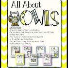 All About OWLS!