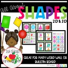 All About Shapes Bundle (2D & 3D Shapes)