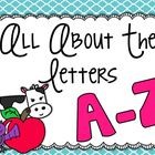 All About the Letters A-Z BUNDLE