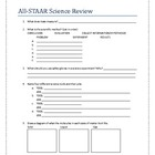 All STAAR Science Review 5th Grade
