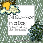 All Summer in a Day by Ray Bradbury Short Story Activities