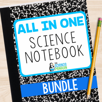All in One Science Interactive Notebook Bundle