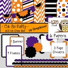 All-in-One Set: Oh So Puffy 4 {Digital Papers, Frames, Pag