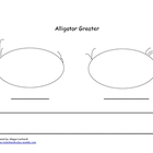 Alligator Greater, Which number is bigger?