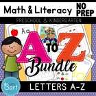 Alphabet Activities: Letters A-Z Bundle {Common Core}