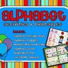 Alphabet Activities and Printables - aligned with CCSS