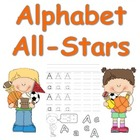 Alphabet All-Stars Handwriting Practice for Kindergarten