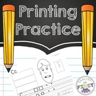 Printing Practice and Short Sound Articulation Activities
