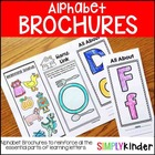 Alphabet Brochures { Simply Kinder }