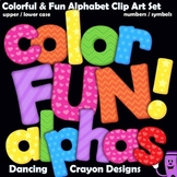 Alphabet: Color FUN! Alphabet Clip Art