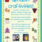 Alphabet Crafts * Craftivities!