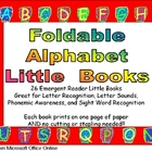 Alphabet Emergent Reader Foldable Little Books
