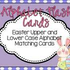 Alphabet Flash Cards Easter Set