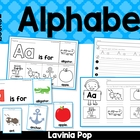 Alphabet Flip Books - Color and Black & White