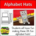 Alphabet Hats - Sentence Strip Hats {Simply Kinder}