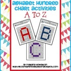 Alphabet Hundred Chart Hidden Picture Activities for Math