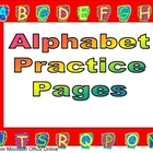 Alphabet Independent Practice- Letter Recognition and Handwriting