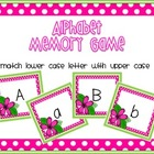 Alphabet Memory Matching Game - Style 2