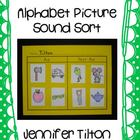 Alphabet Picture Sound Sort- Beginning Sounds