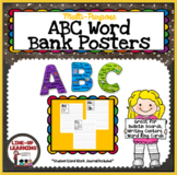 Alphabet Posters & Student Journal with Embedded Sight Words!