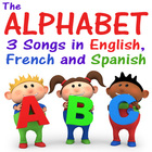 Alphabet Songs in English, Spanish and French