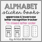 Alphabet Sticker Books {with mixed letter order}