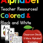 Alphabet Teacher Resources