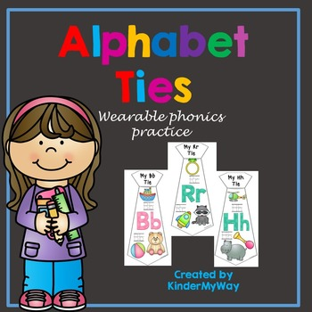 Alphabet Ties - The Wearable Phonics Activity
